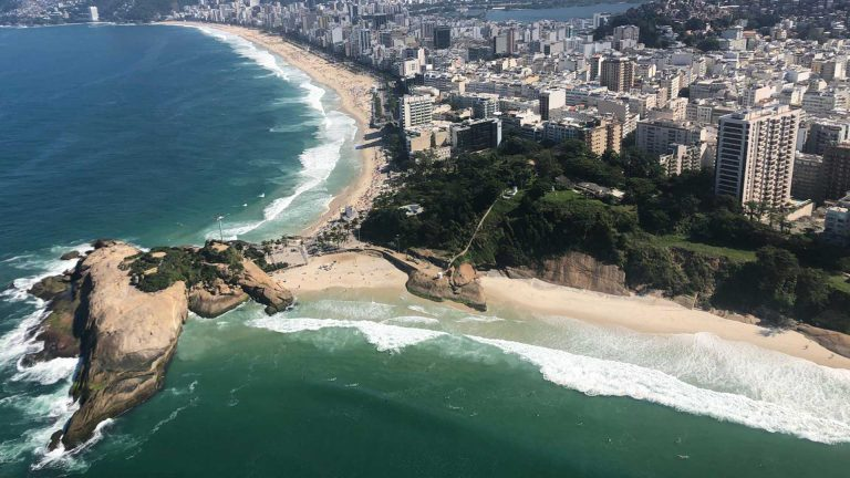 Helicopter tour in RJ