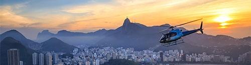 45 Minutos - Passeio de Helicóptero no Rio de Janeiro - 4FLY RJ