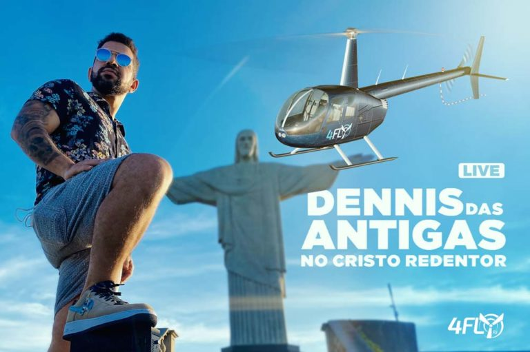 Read more about the article Live Dennis no Cristo Redentor com a 4 Fly RJ
