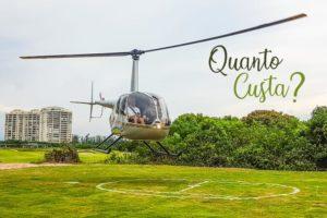 Veja quanto custa um passeio de helicóptero no RJ
